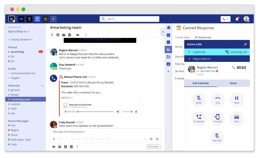 team-hub-interface